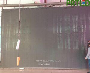 Voyant de configuration de maille rideau de vidéo avec la haute transparence pour P 8, p 10