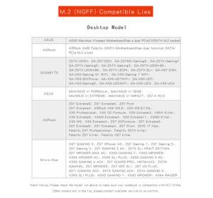 Kingspec M2 Ngff 1 ТБ SATA SSD 2280 с возможностью горячей замены