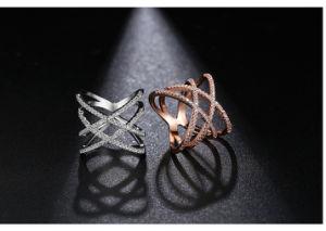 Venda por grosso de moda China 925 Anel de prata jóias