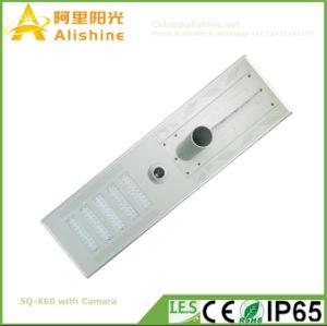 12V 100W Caméra de sécurité WiFi à l'extérieur de la rue LED lampe solaire