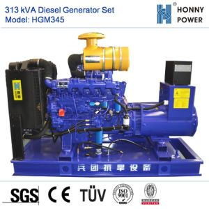 313kVA Googol 엔진 50Hz를 가진 디젤 엔진 발전기 세트