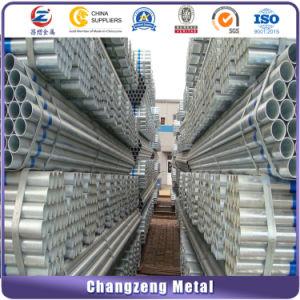Tubo d'acciaio galvanizzato tuffato caldo per il trasporto dell'acqua (CZ-RP06)