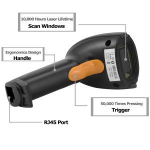 Ordinateur de poche sans fil Bluetooth 4.0 Barcode Scanner, lecteur de codes barres laser, support mobile Android, iPhone, iPad, de la fenêtre PC, MJ2810