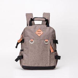 Образом из натуральной кожи и съемника D-Декор плечевой лямки ремня безопасности дамской сумочке школы рюкзак подушек безопасности