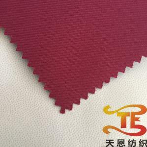 100% de poliéster Sarjado Tecido Gabardin Tecido exterior com PU Milky 3K/3K