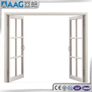 안전 석쇠를 가진 두 배 유리제 알루미늄 여닫이 창 Windows