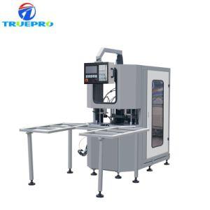 Canto do Cortador de cinco CNC máquina de limpeza para portas de plástico e máquina de vidro