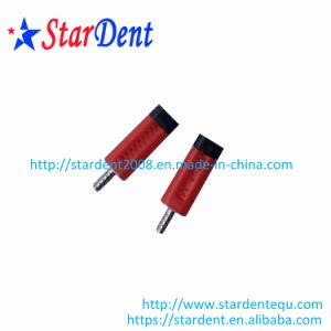 Espiga de latón dental dos pasadores con color rojo