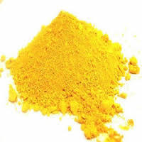 Pigmento de óxido de hierro de color amarillo con un buen rendimiento