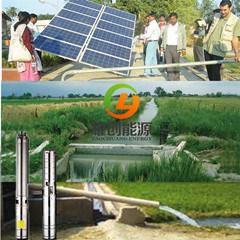 Pompa ad acqua solare della pompa sommergibile del pozzo profondo da 2 pollici