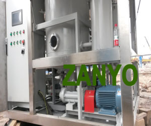 Doppio impianto di eliminazione dell'olio del trasformatore dello spreco del sistema di vuoto
