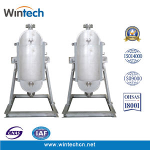 Shell Semi-Circular WBZ 700 Todos os trocadores de calor da placa soldada/Alta Pressão/Temperatura Alta