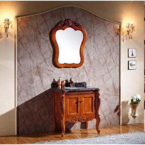 шкаф самомоднейших лоснистых тщет ванной комнаты картины деревянный