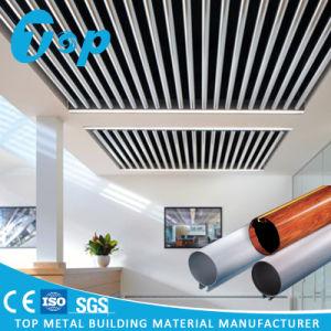 2017 Foshan finition bois aluminium perforé Panneau d'éclairage LED
