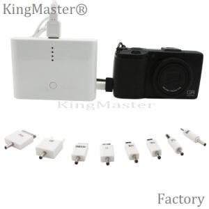 Cargador de batería portable de la batería de la potencia del recorrido de Kingmaster 10000mAh con el cable
