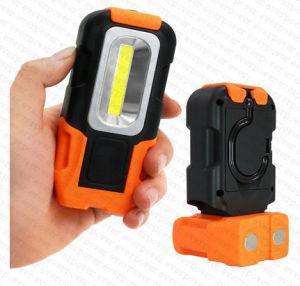 Складные 3W светодиодный фонарь рабочего освещения с помощью магнитного основания