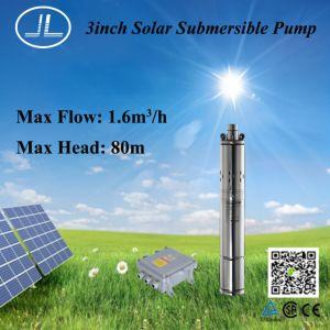 3inch螺旋形の回転子の浸水許容ポンプ、太陽ポンプ、水ポンプ400W