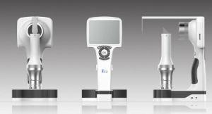 La primera lámpara de hendidura digital portátil portátil / dispositivo de diagnóstico anterior