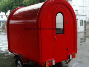 2.25m Fiberglas-elektrische mobile Nahrungsmittelwärmer-Karren für Verkauf