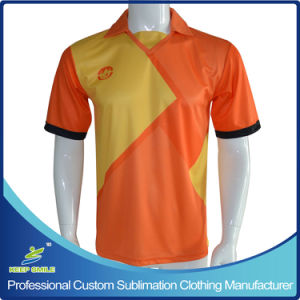 La impresión de sublimación de tinta personalizada ropa de fútbol Camisetas de fútbol