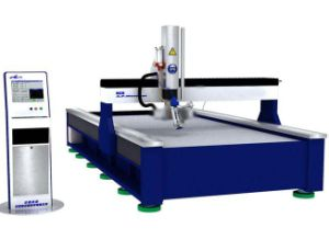 5軸線のDynamic Head CNC Waterjet Cutter