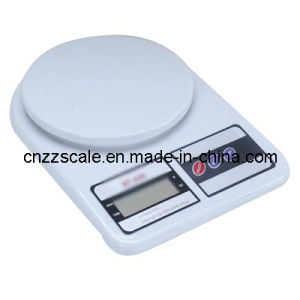Scala elettronica di plastica della cucina di Zzsp-801 5kg