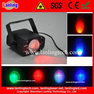 DMX Mini RGB LED Efeito Fase Discoteca Strobe Light
