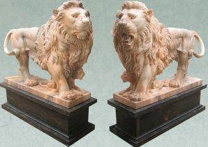 Marmeren Dierlijk Standbeeld (ANM1216)