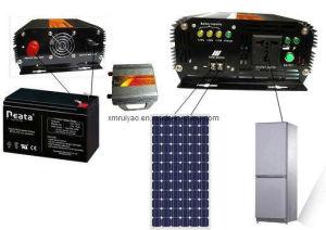 순수한 사인 파동 휴대용 태양 발전기 (DC12-AC220)