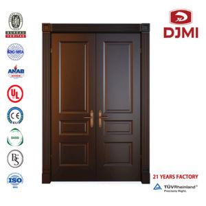 Cheap 6 La porte du panneau extérieur en bois
