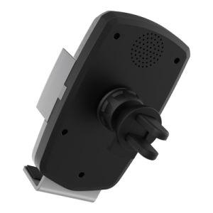 最上質のチーの情報処理機能をもった速い声制御iPhoneまたはSamsungのための無線電話ホールダーか車の充電器