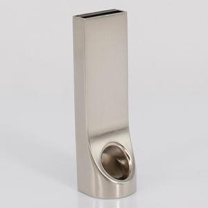 8 ГБ и 16 ГБ флэш-памяти USB Memory Stick, металлическая Серебристый флэш-накопителя USB на наклейке, USB флэш-памяти (UL-M014)