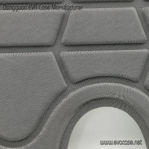 Soft Coussins en mousse EVA pour canots avec Lycra gris couvrant