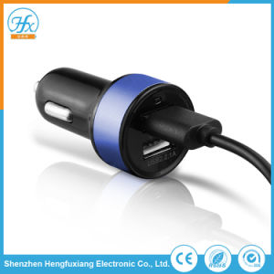 Kundenspezifisches Firmenzeichen-Drucken 5V/2.1A verdoppelt USB-Auto-Handy-Aufladeeinheit