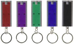 カスタム装飾のギフトの丸型LEDのキーホルダー(093)
