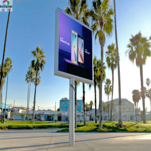 Cores exteriores P6 P8 P10 Sinal LED para publicidade em Outdoor de exibição