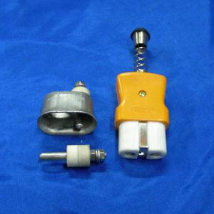 アルミニウムボディケイ素ヘッドまっすぐなヒーターのプラグ