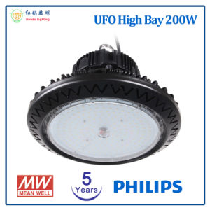 工場照明のための高い湾5年の保証200W LEDの