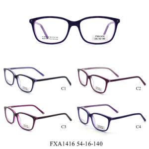 De Optische Frames van de Acetaat van de Luxe van Wenzhou (FXA1416)