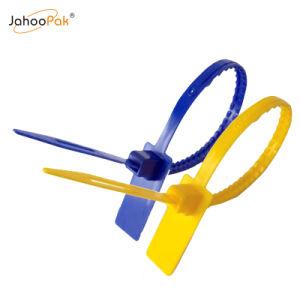 Utiliser le joint en plastique d'autosurveillance à usage unique pour l'extincteur