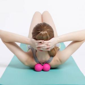 Mejor bola masajeador Spin gimnasio en casa el equipo de terapia de rodillos