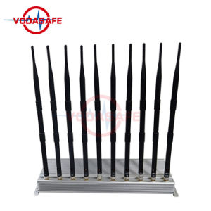 Quarto Bloqueador Walkie Talkie Jammer/Bloqueador para um telemóvel /Wi-Fi/ UHF/VHF, telefone celular Jammers Walkie-Talkie para venda