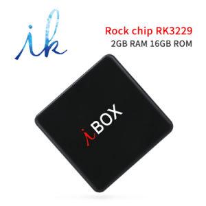 Ich schachtele androiden Fernsehapparat-Kasten mit Felsen-Chip Rk3229 2GB RAM/16GB ROM-Support WiFi, 1080P HD, 4K, intelligenter Fernsehapparat-Kasten