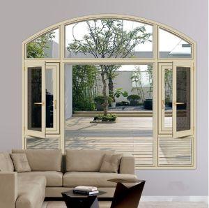 집을%s 열 틈 열 절연제 PVDF 알루미늄 여닫이 창 Windows