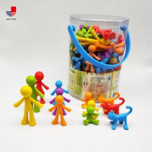 多彩な学習リソースの教育おもちゃグループのカウンターによってセットされる演劇のおもちゃ