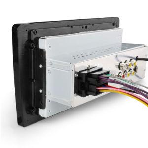 1 de Auto DVD van de VideoSpeler van de Auto van DIN Speler van de Auto van de FM van Bluetooth van 9 Duim de RadioMP5 voor AchterCamera