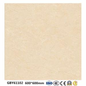 De glanzende Volledige Verglaasde Opgepoetste Tegel van de Vloer van het porselein voor Woonkamer