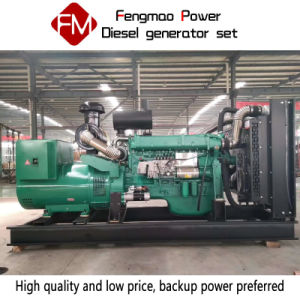 La fabbrica utilizza i gruppi elettrogeni diesel 200kw/250kVA in Weifang, Cina