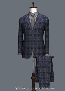 La moda de estilo europeo Tr Tela Slim Fit hombre trajes
