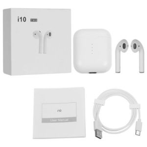 J'ai10 Bluetooth 5.0 jumeaux Touch Design écouteurs sans fil